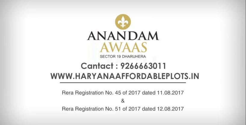 Anandam Awaas Deen Dayal Jan Awas Yojna Affordable Plots Sector 19 Dharuhera