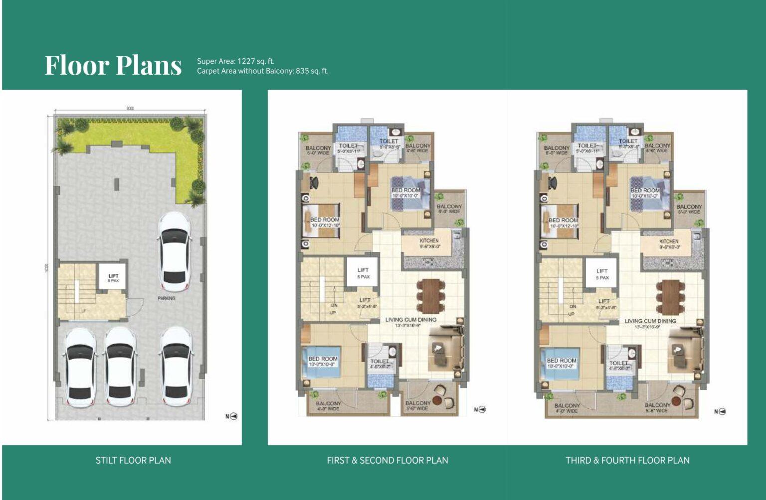 Paras-Ekam-Roseview-2-Floor-Plans-1536x1004