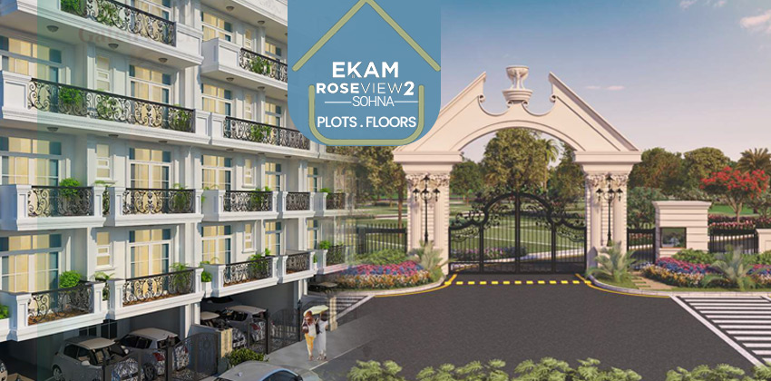 Paras Ekam Roseview 2 DDJAY Affordable Plots & Floors Sector 5 Sohna
