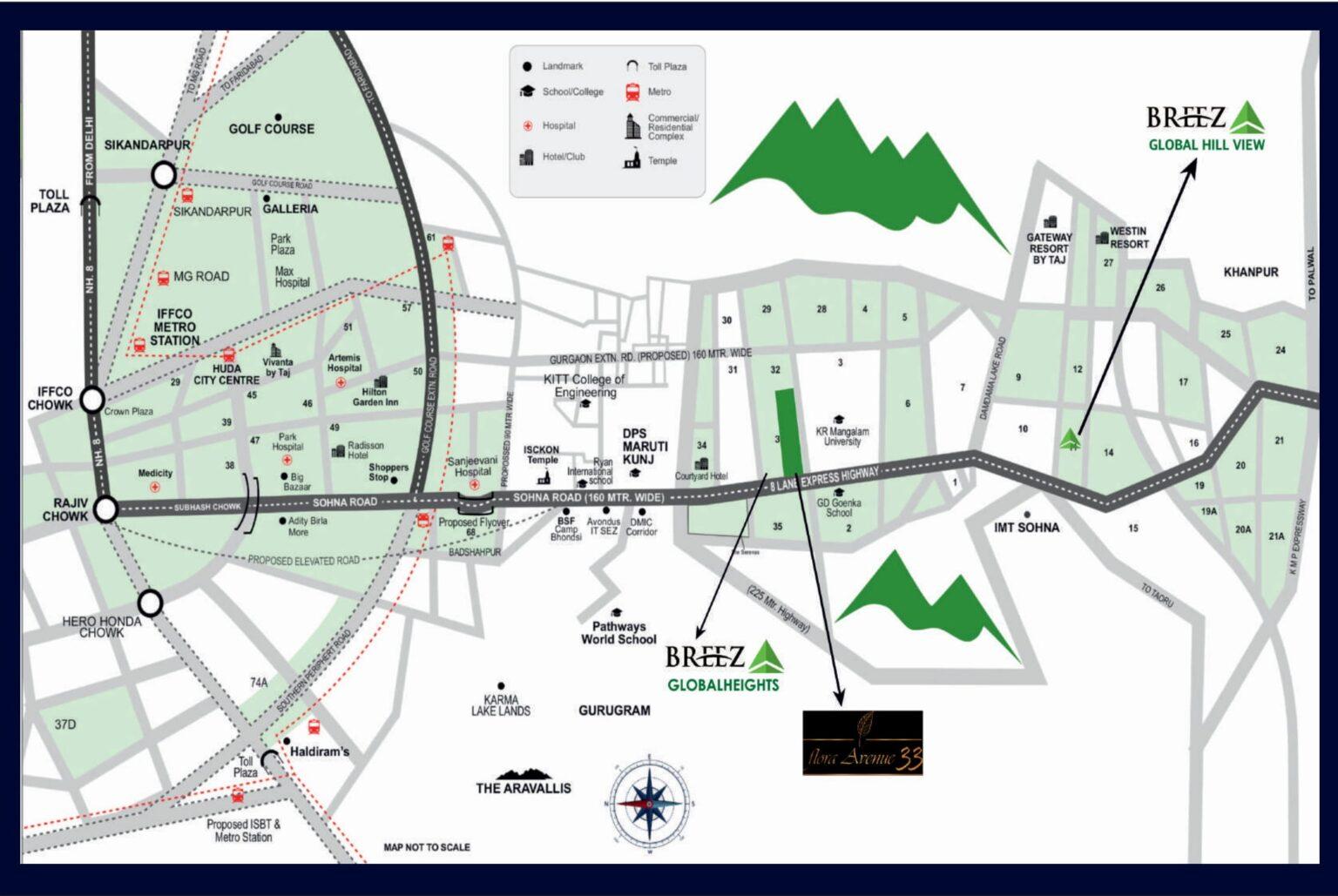 Breez-Flora-Avenue-33-Location-Map-1536x1029